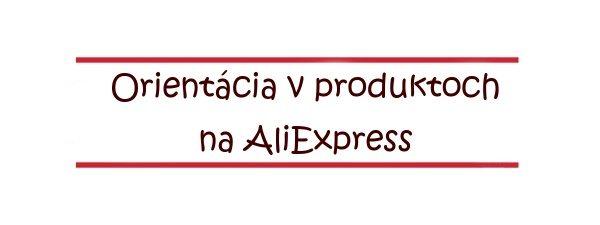12 Orientacia v produktoch Aliexpress SA