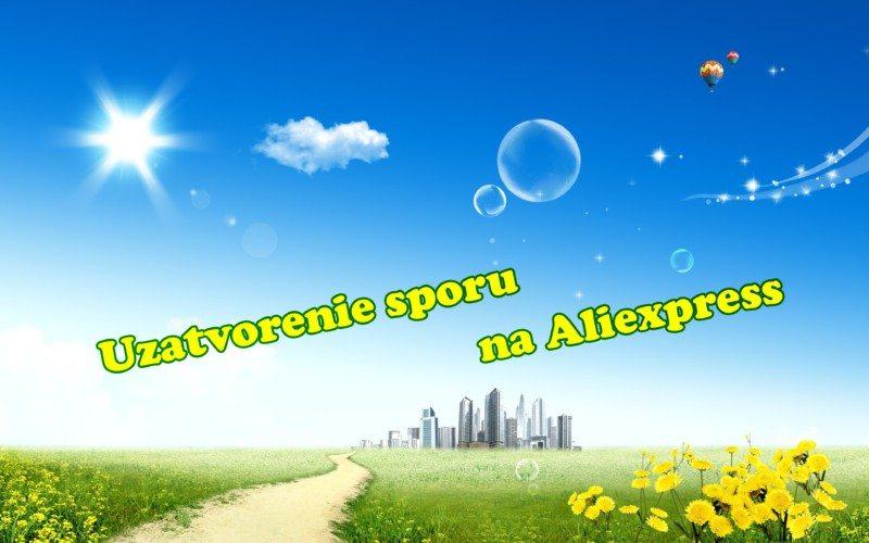 reklamacia aliexpress