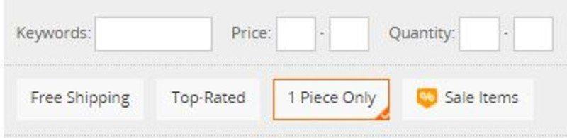 06 - Ako jednoducho filtrovať produkty na Aliexpress