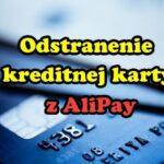 23 – Odstranenie kreditnej karty z AliPay – Aliexpress