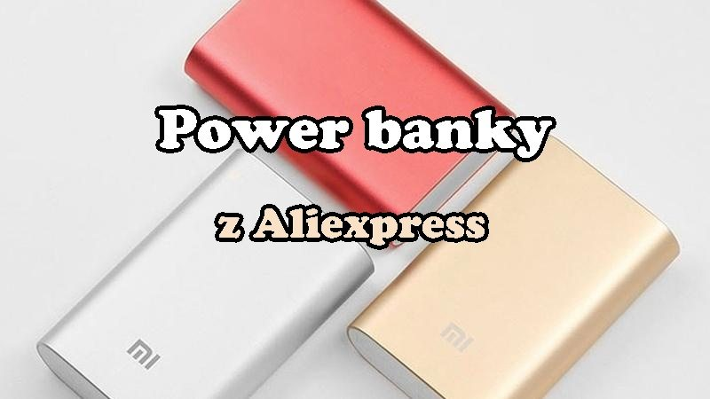 Xiaomi Power Banky z Aliexpress