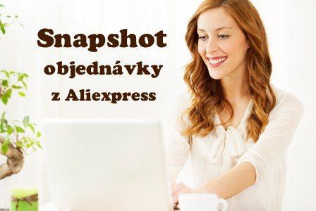 Jak udelat snapshot na Aliexpress CZ 2