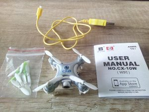 WiFi mini dron CHEERSON CX-10W z Aliexpress 1