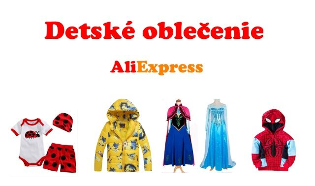 077a4bcce1b7 Lacné detské oblečenie z Aliexpress