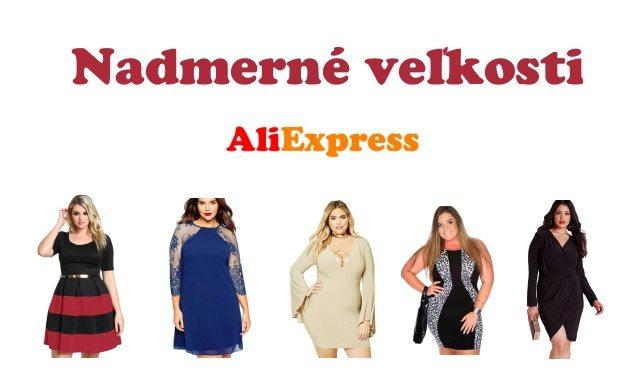 Nadmerne velikosti plus size Aliexpress SK