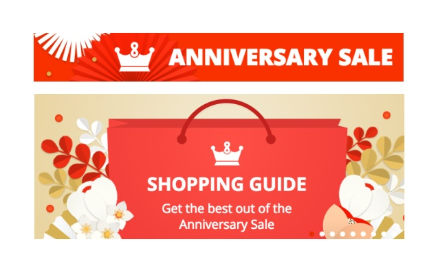 Aliexpress anniversary sale vyroci kupony coupon 2