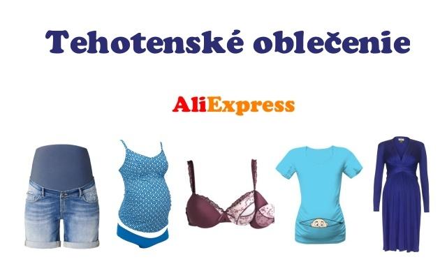 Tehotenske obleceni maternity clothes podprsenka kalhoty bra SK
