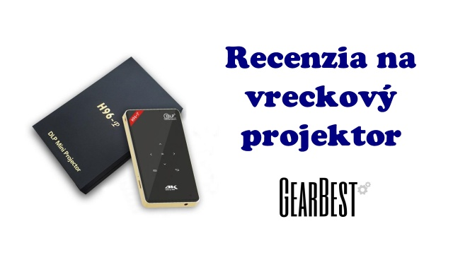 Android kapesni projektor projector Aliexpress Gearbest review SK