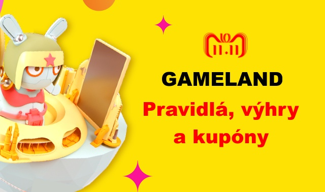 Aliexpress Day Rules for gameland 11.11.2018 SK