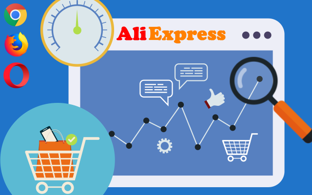 aliexpress superstar chrome + ikony browser