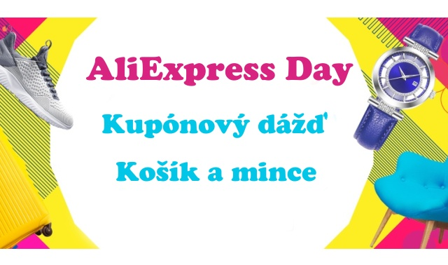 Aliexpress Day 11.11.2018 Shopping kosik mince kupony SK