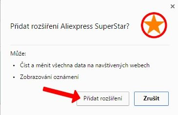 Aliexpress Superstar srovnavac cen 2