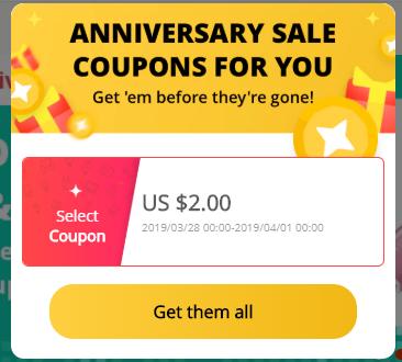 Aliexpress narozeniny 2019 graf kupony ziskej