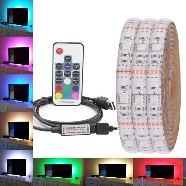 LED-Strip-Waterproof-DC-5V-USB-LED-Light-Strips-Flexible-Tape Aliexpress 2