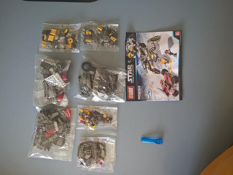 Lego Gudi stavebnice aliexpress