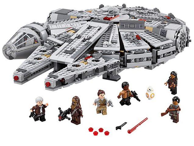 Lego Star wars falcon stavebnice aliexpress