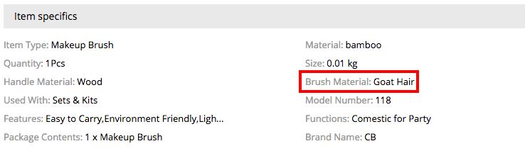 makeup stetce aliexpress- brushes