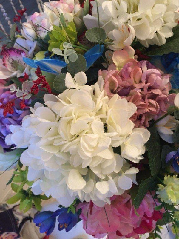 Plastova dekorace umele kytky 11