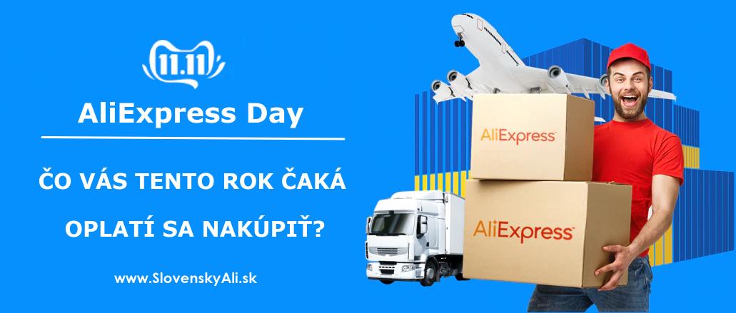 Aliexpress day 11.11.2019 nakupovani slevy cina SK