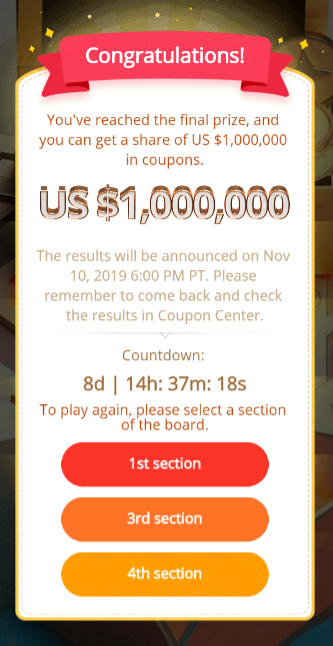 Aliexpress vymena kuponu coupons coins 11 11 2019 Money hop win