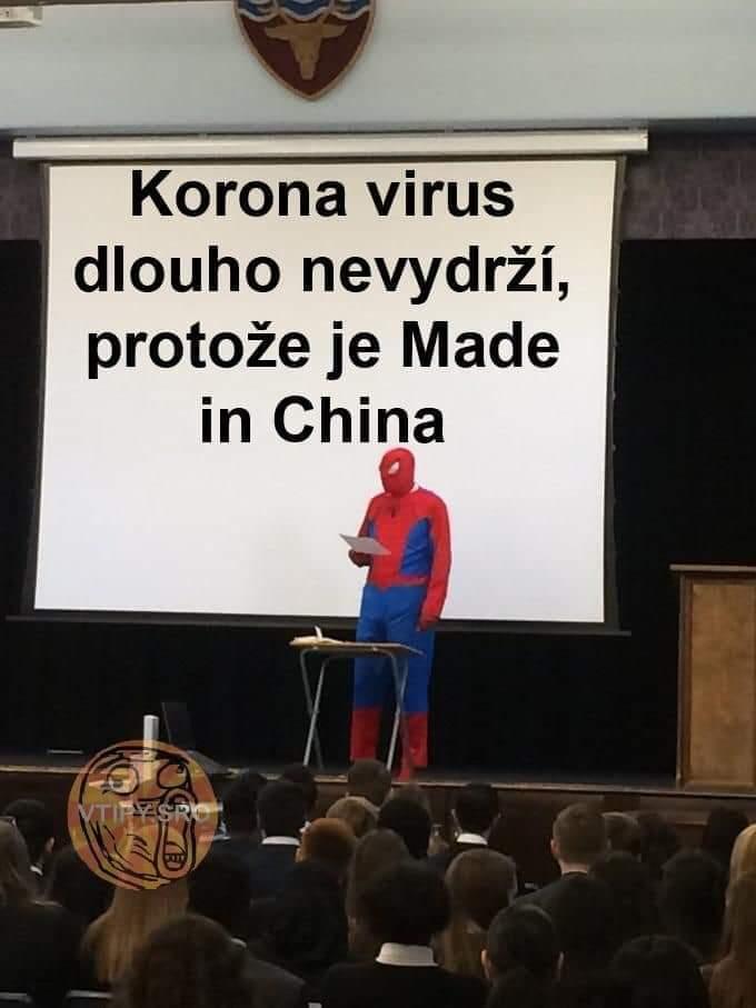 Koronavirus Aliexpress nakaza Cina balicek vtip