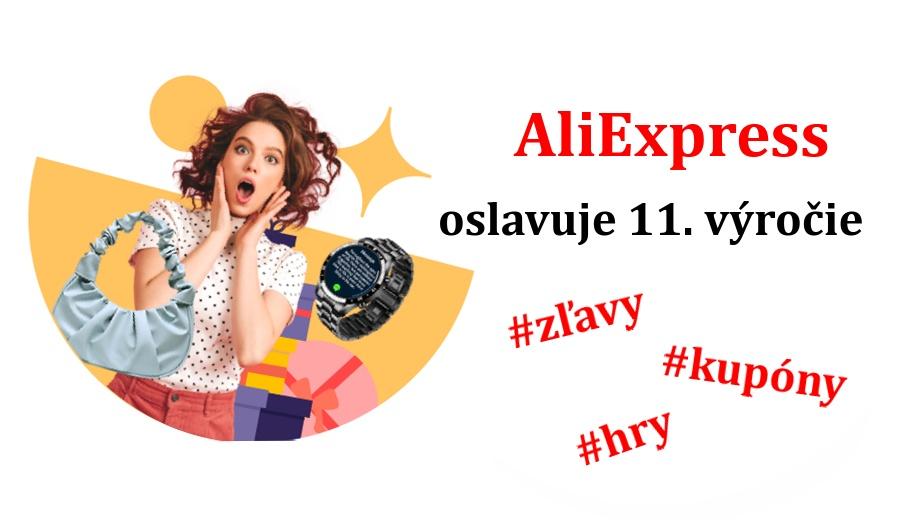 Alliexpress vyrocie zlavy kupony nakupovanie slovensky