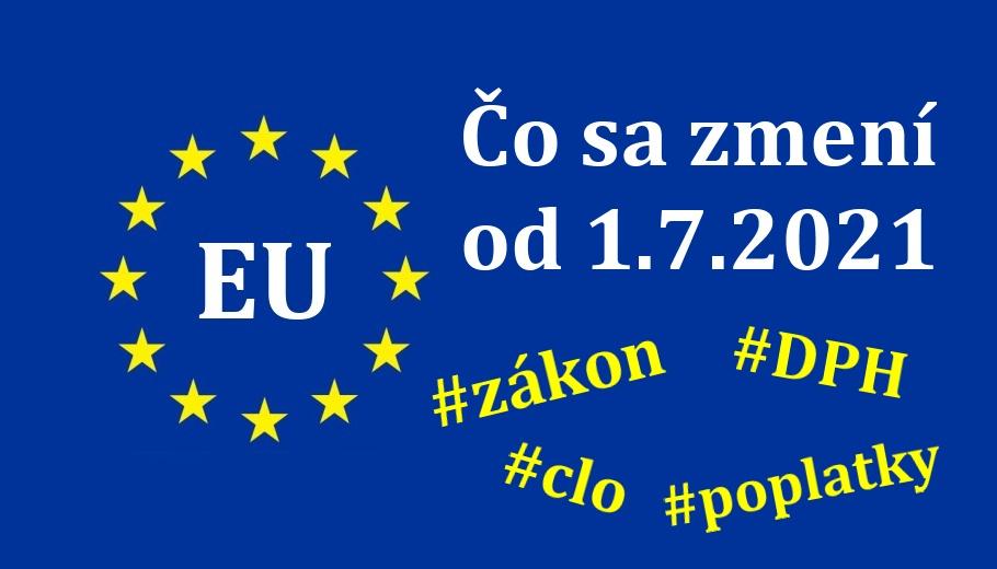 Aliexpress novy zakon 2021 clo dph evropska unia SK